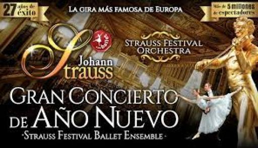 JOHANN STRAUSS - GRAN CONCIERTO AÑO NUEVO