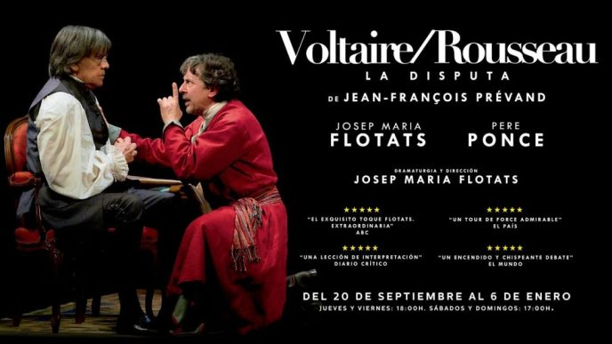 VOLTAIRE / ROUSSEAU. La disputa en el Teatro Cofidis Alcázar