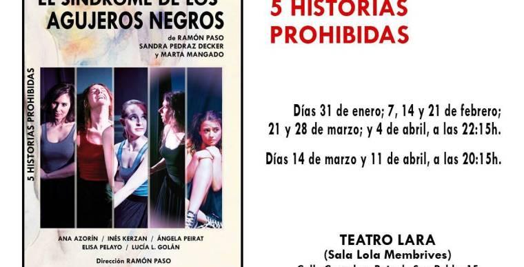 EL SÍNDROME DE LOS AGUJEROS NEGROS en el Teatro Lara