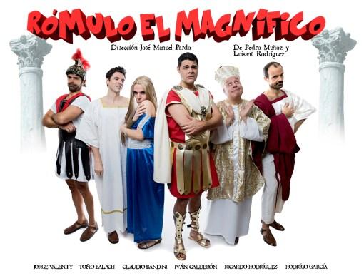 RÓMULO EL MAGNÍFICO en el Teatro Quevedo