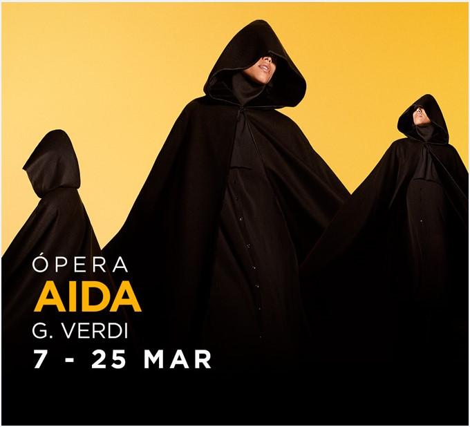 AIDA en el Teatro Real