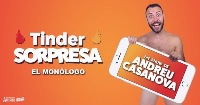TINDER SORPRESA de ANDREU CASANOVA