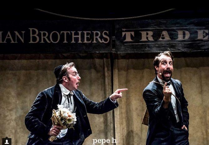 LEHMAN TRILOGY en los Teatros del Canal