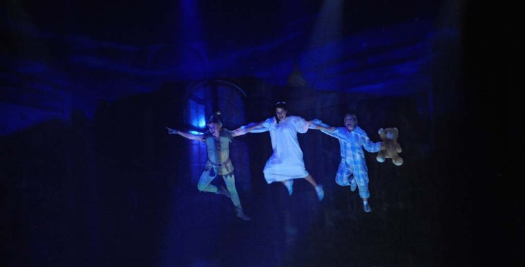 PETER PAN EL MUSICAL en el Teatro de la Luz Philips