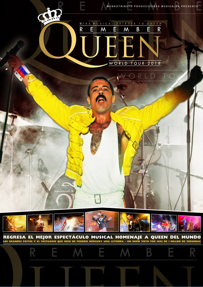 REMEMBER QUEEN en el Teatro de la Luz Philips