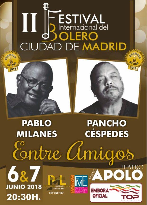 II FESTIVAL DEL BOLERO CIUDAD DE MADRID