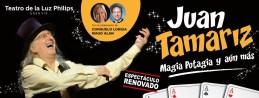 JUAN TAMARIZ, MAGIA POTAGIA Y AÚN MÁS en el Teatro EDP Gran Vía