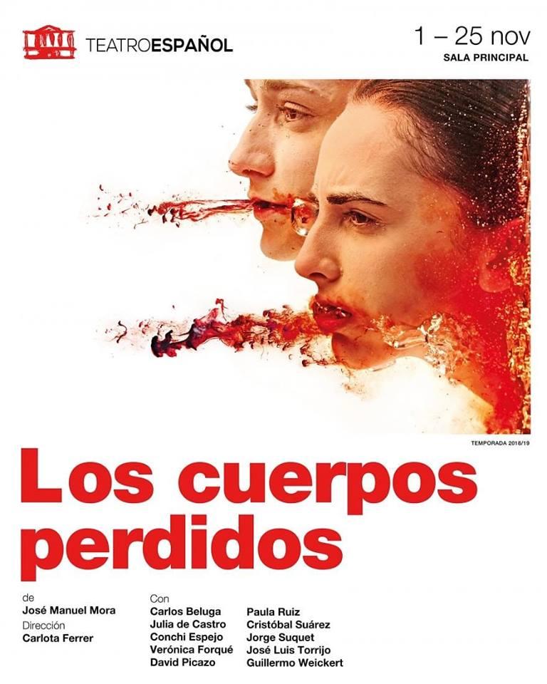 LOS CUERPOS PERDIDOS en el teatro Español