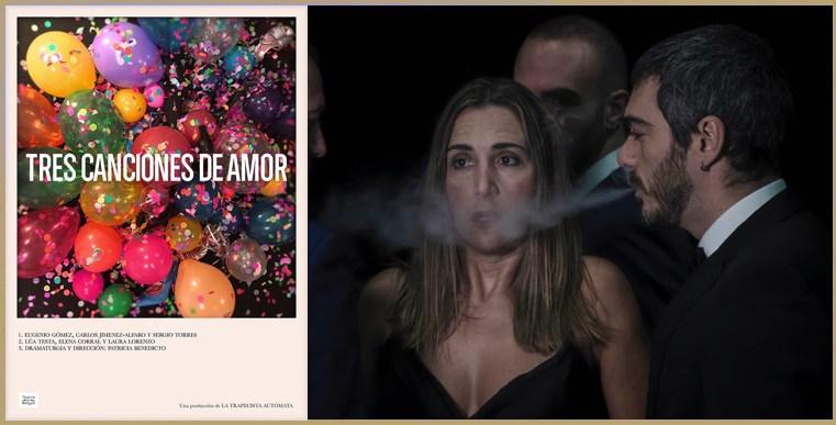 TRES CANCIONES DE AMOR en la Sala Cuarta Pared - Madrid Es ...