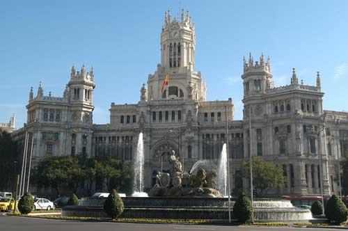 Visita El Palacio De Cibeles Madrid Free