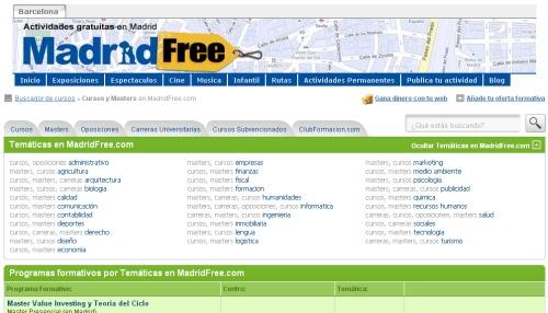 cursos+madrid+free