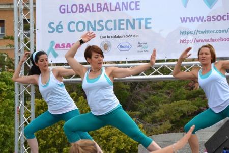 Globeathon+cancer+plaza+oriente+madrid