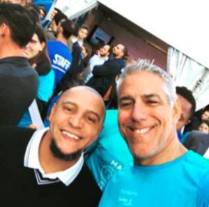 Roberto Carlos and Joe Arlauckas