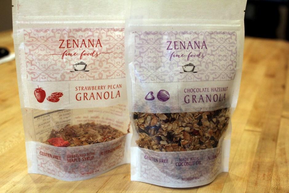 Zenana granola pouch
