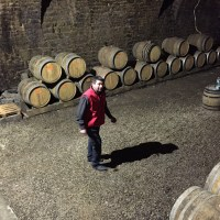 Christian Pecheur in his cellar