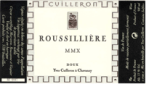 Cuilleron-Roussilliere-MMX-Doux-2010