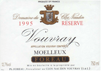 Foreau-Vouvray-Moelleux-Reserve