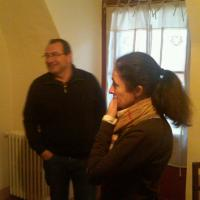 Jean-Francois and Florence Rougier of Chateau Simone