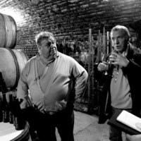 Morey and Neal in cellar #2
