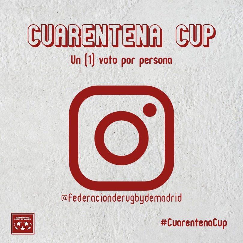 Jugamos la #CuarentenaCup de la Federación de Rugby de Madrid