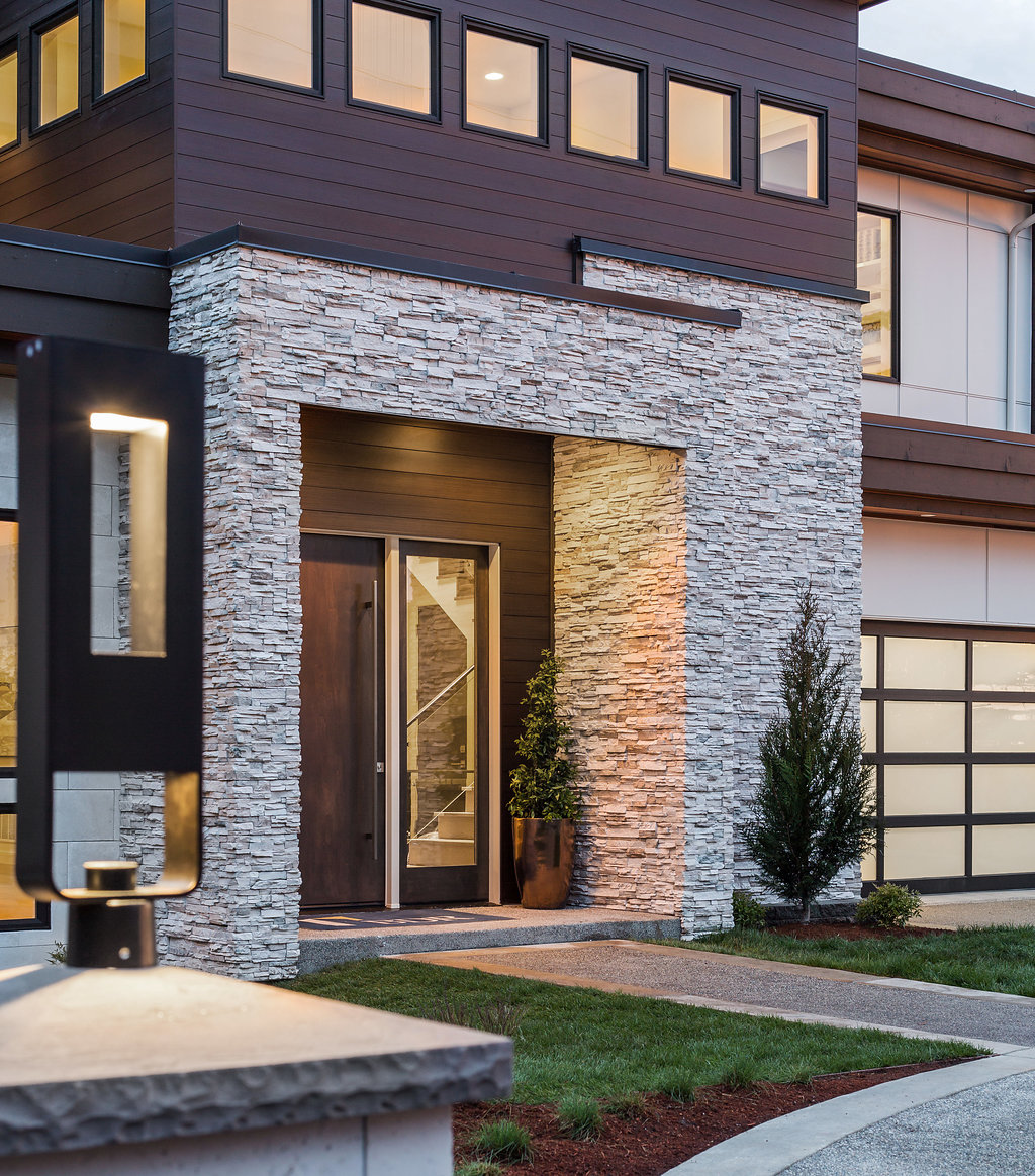 Introducing A Fresh New Modern Design On Clyde Hill. This New Luxury Home  Boasts Over 6,000 SF And Features 5 Bedroom Suites Plus A Den.
