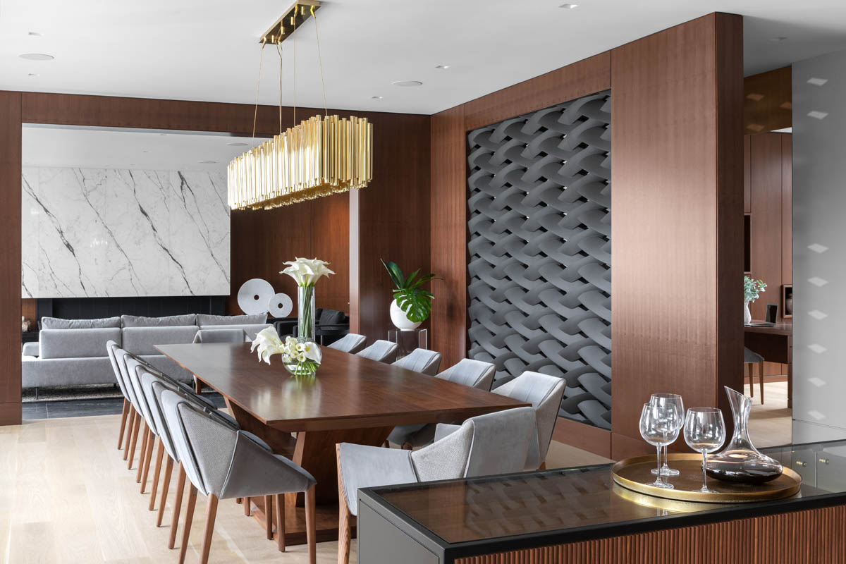 Madeleine Design Group Ocean Bluff Dining Room