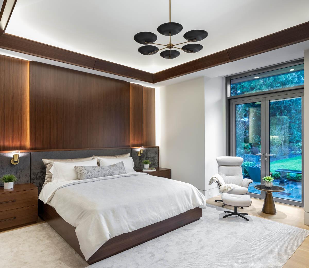 Madeleine Design Group Ocean Bluff Downstairs Bedroom
