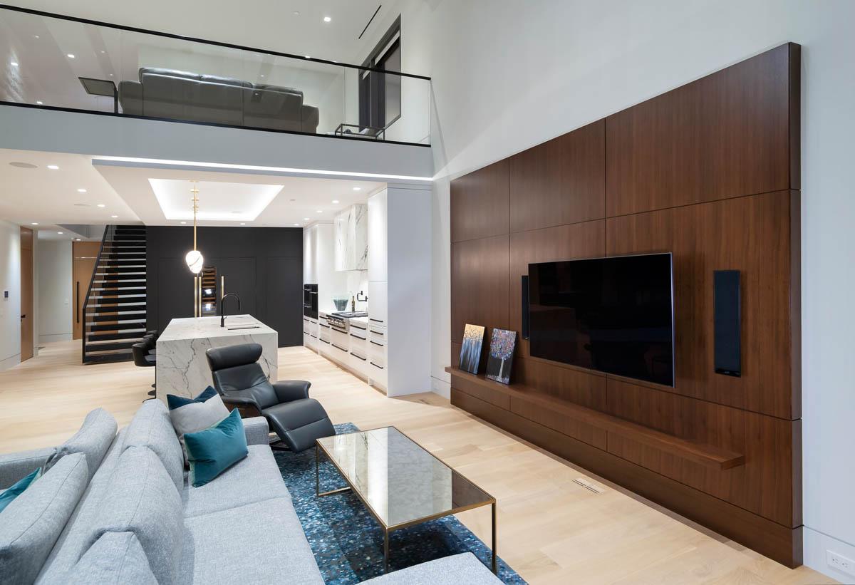 Madeleine Design Group Ocean Bluff Family Room