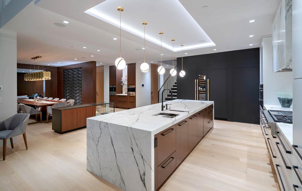 Madeleine Design Group Ocean Bluff Kitchen Credenza
