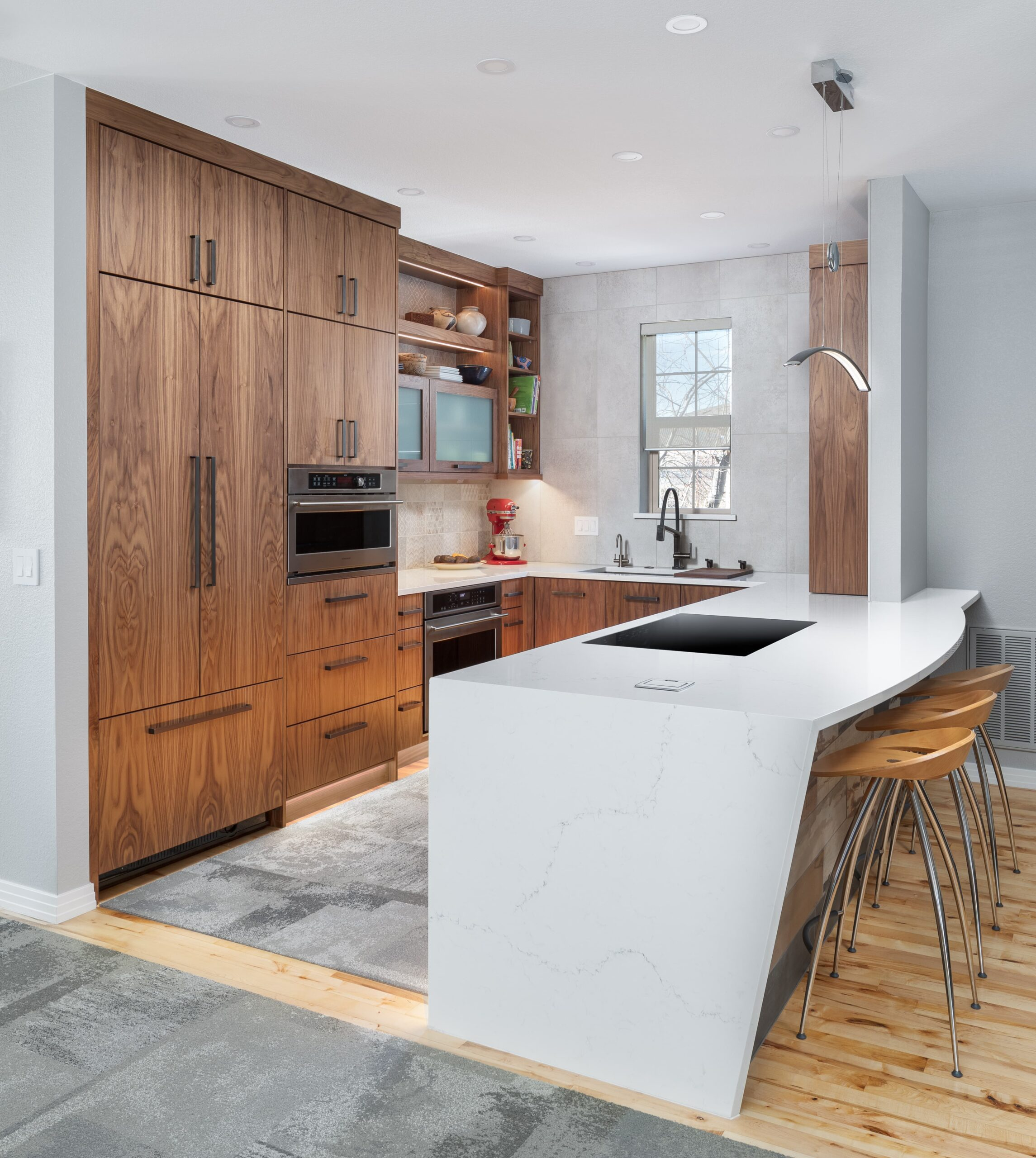 KE Interior Solutions highly functional kitchen