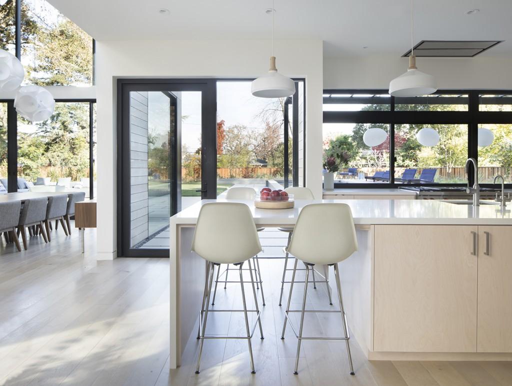 John Lum Architecture kitchen table