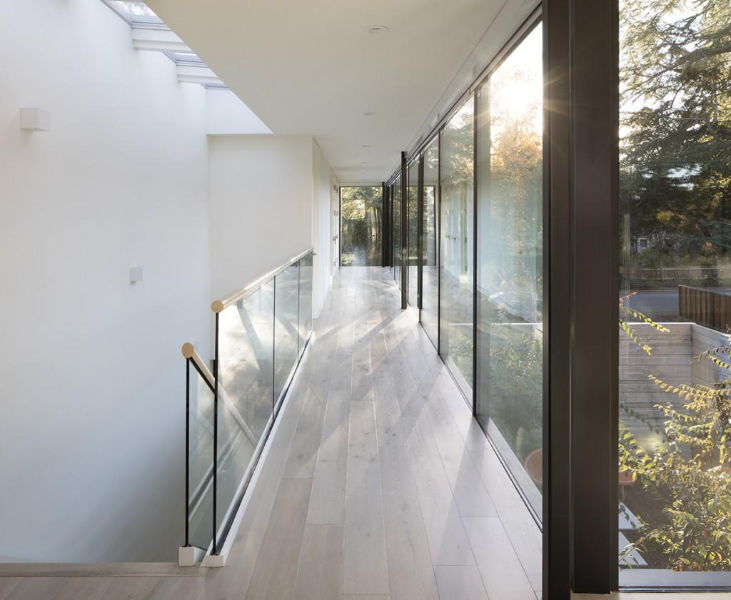 John Lum Architecture upstairs hall