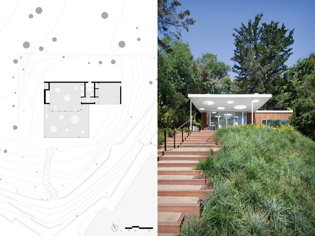 Turnbull Griffin Haesloop Architects Siteplan