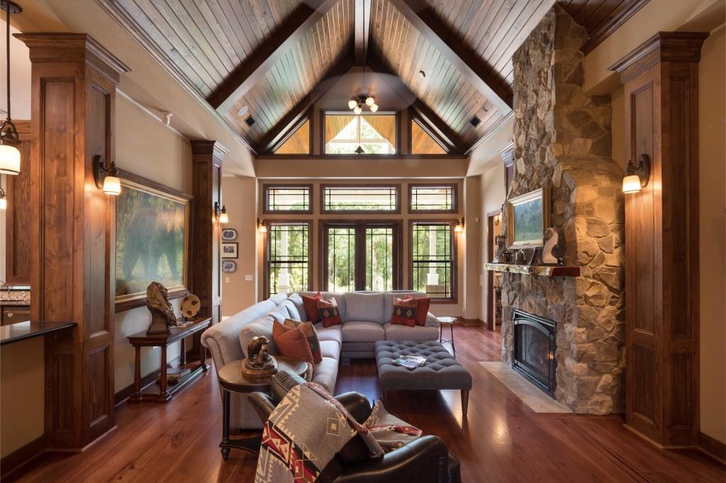 Charles Todd Helton Architect Living Room