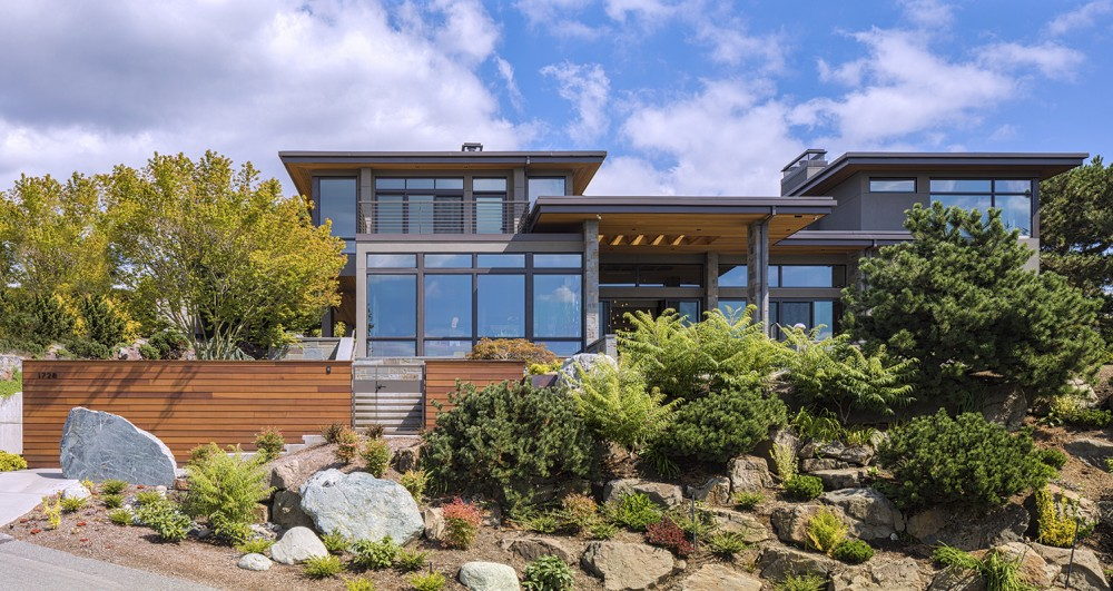Baylis Architects house of balanced energy