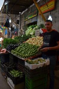 Fresh produce at Al Bukharia market