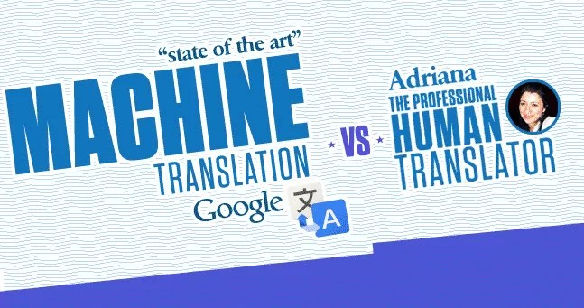 Google Translate vs Human Translator – When should you use which?  [Infographic]
