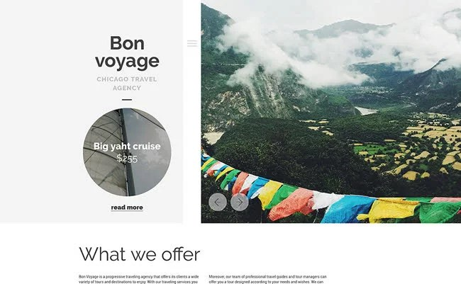 Bon Voyage WordPress Theme