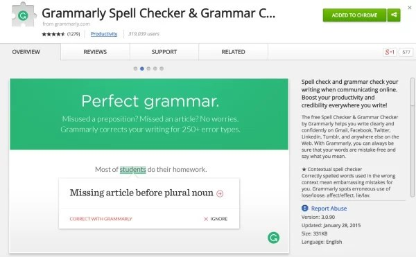 Grammarly is your ultimate guide to proofreading
