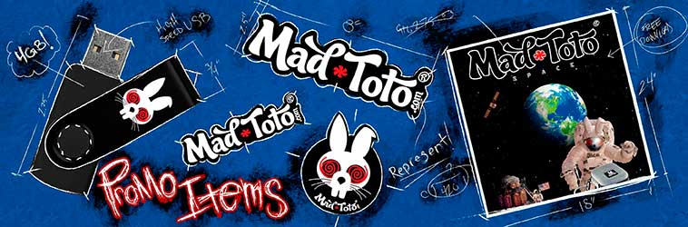 Mad Toto Promo Items