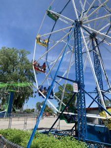 Ferris wheel at Bay Beach
