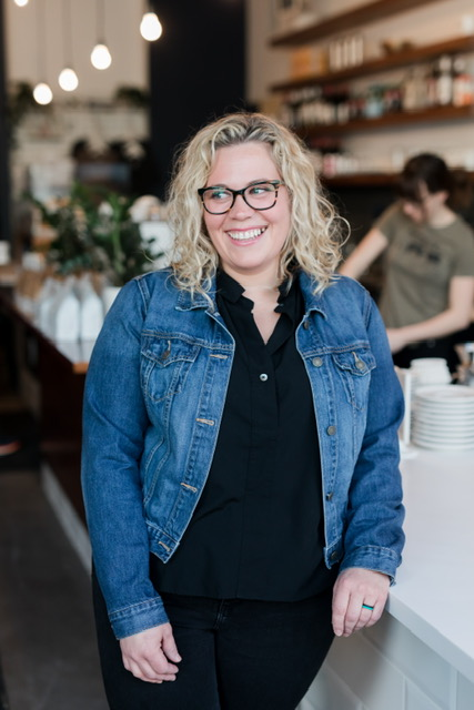Cait Sirianni of Crescendo Espresso Bar