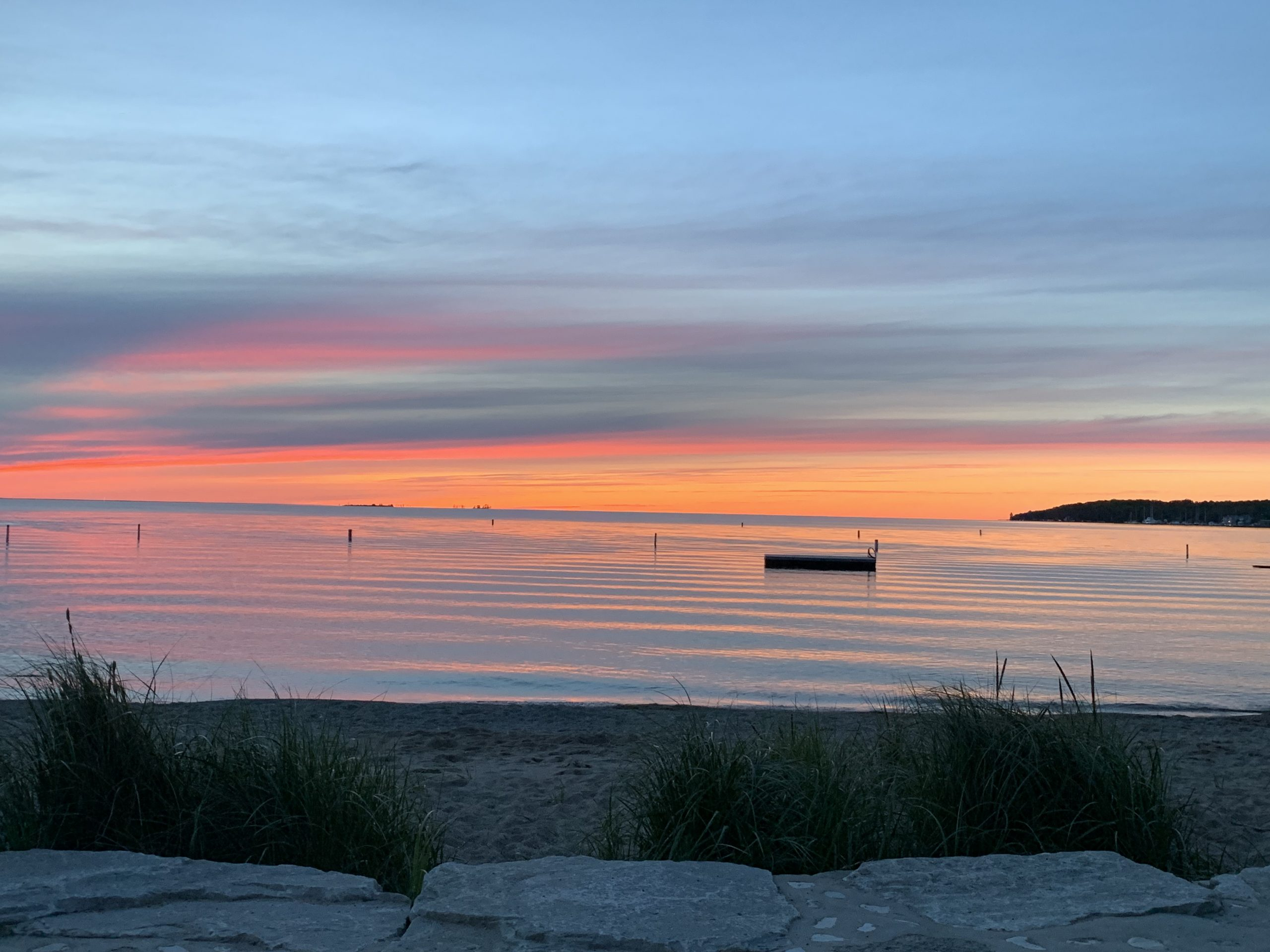 Sunset in Sister Bay, WI