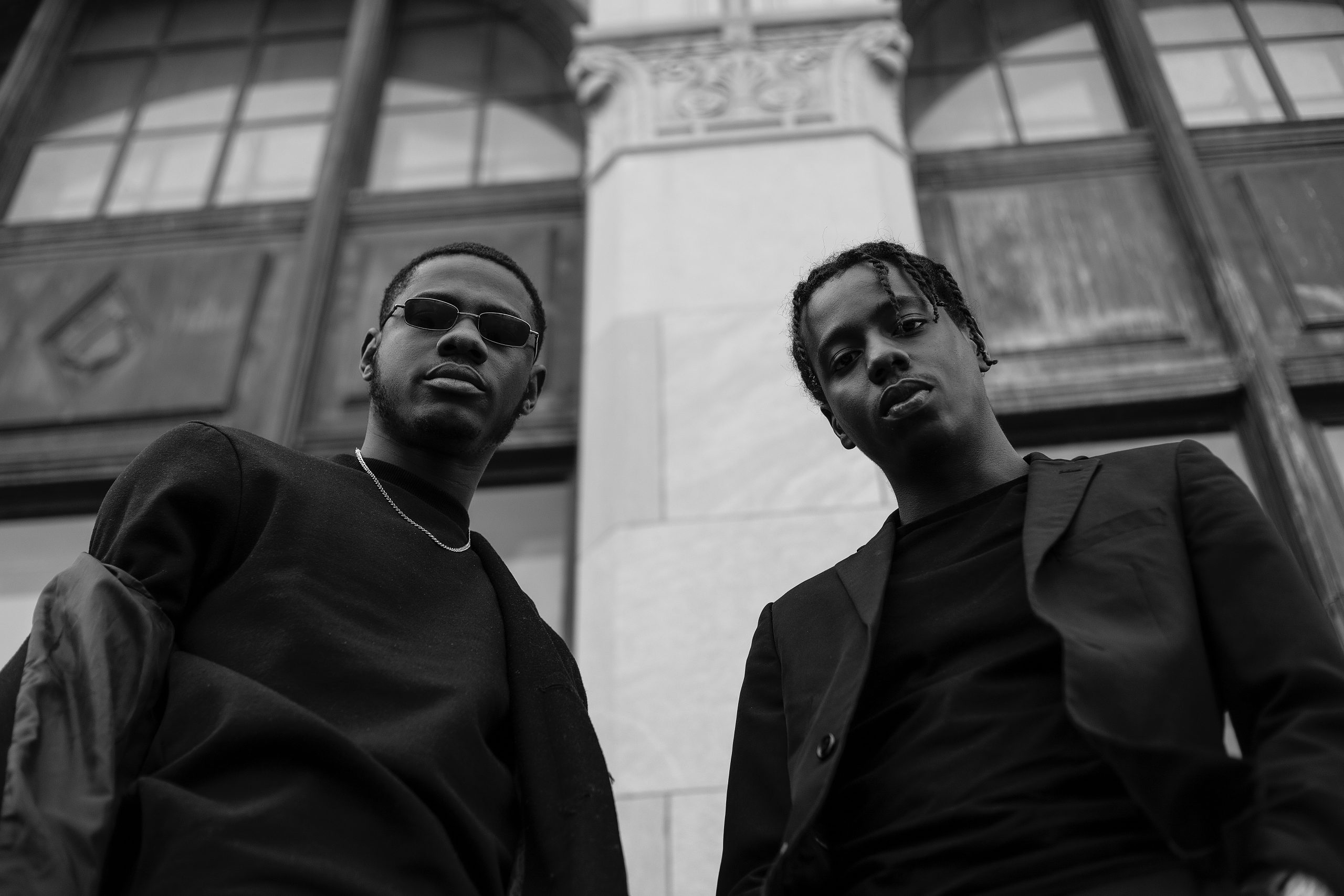 Black Movie Marathon image of two black men