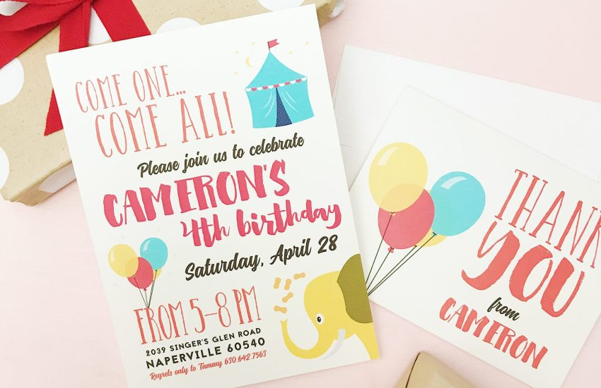 Basic Invite Birthday Invitation
