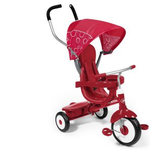 737fbf98a26 Radio Flyer 811X 4-in-1 Stroll 'N Trike | Best Toddler Tricycle With Push  Handle