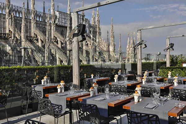 10 panorami da vedere a Milano  5 Terrazza Bar Rinascente