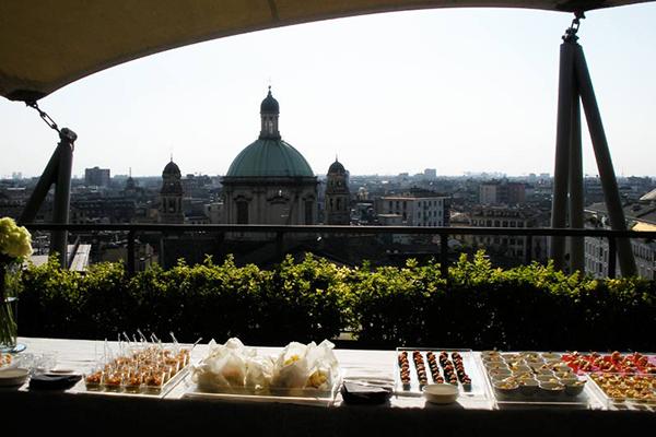10 panorami da vedere a Milano  6 Terrazza Hotel dei