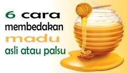 madu asli dan madu palsu