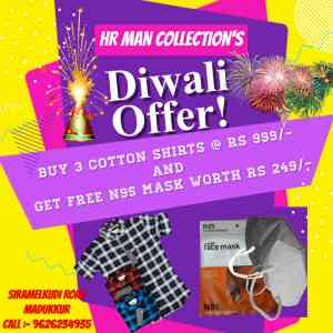 DIWALI OFFER !!! HR MAN COLLECTION'S